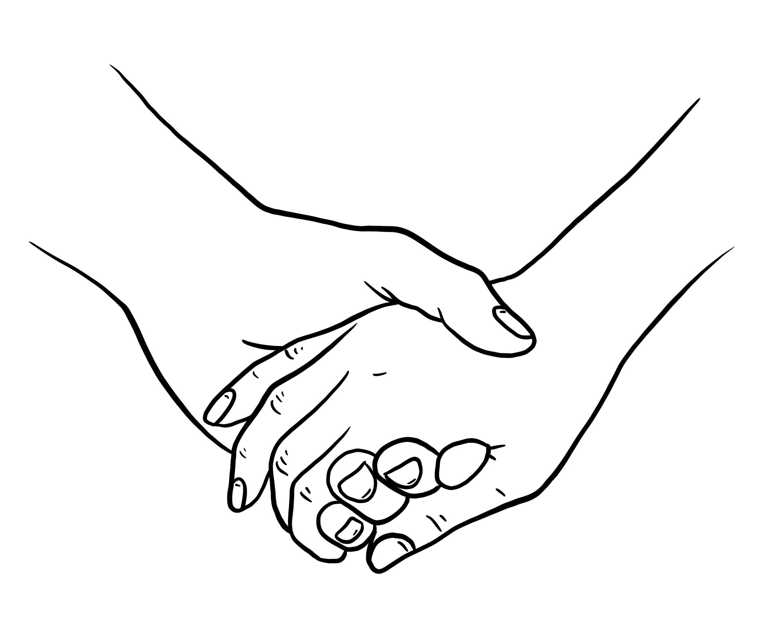 Zeichnungen Von Händen Bleistift Illustration Kostenloser Download