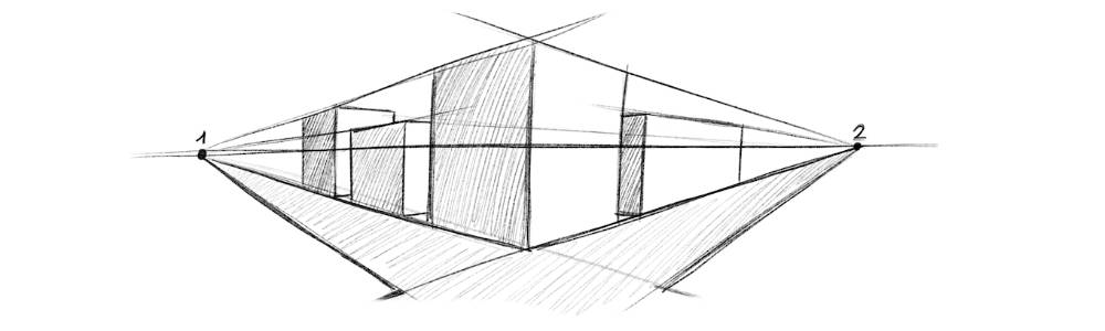 3D Perspektive zeichnen lernen