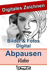 Bilder und Fotos digital nachzeichnen in wenigen Schritten