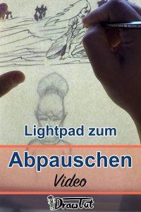 LED Lichtpad zum Abpauschen nutzen - Video