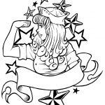 Zeichnung Sailer Girl