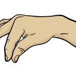 Hand-Etwas-Halten-Zeichnung-01-Comic