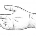 Hand-Reichen-Zeichnung-01-Bleistift