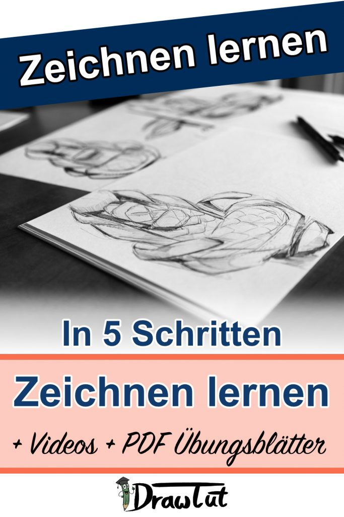 In 5 Schritten zeichnen lernen