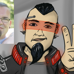 Zeichne mich als Comicfigur 03 - Mike