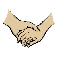 Hände Zeichnung – Händchen Halten – Manga