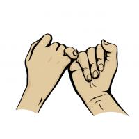 Hände Zeichnung – Versprechen – Manga