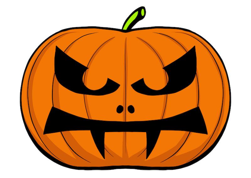 Halloween Kurbis Vorlagen Zum Schnitzen Und Ausmalbilder Fur Kinder