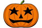 Halloween Kürbis schnitzen Vorlage 13