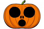 Halloween Kürbis schnitzen Vorlage 18