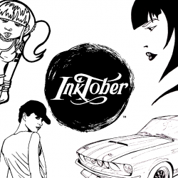 Inktober Banner