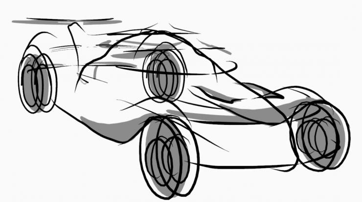 Blender 2D Zeichnung Tutorial