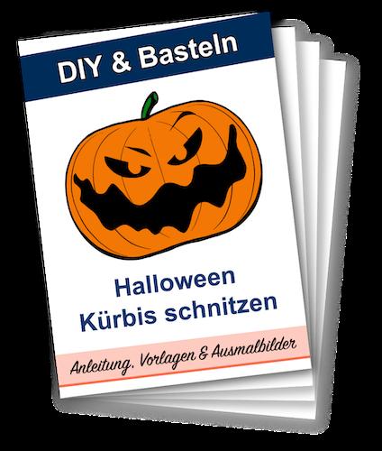 Halloween Kürbis Vorlagen