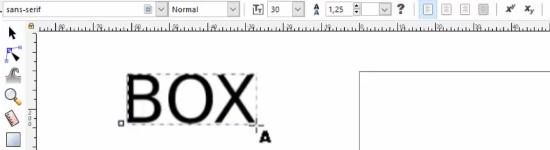 Inkscape Texte verwenden