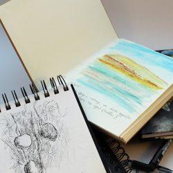 Skizzenbuch führen
