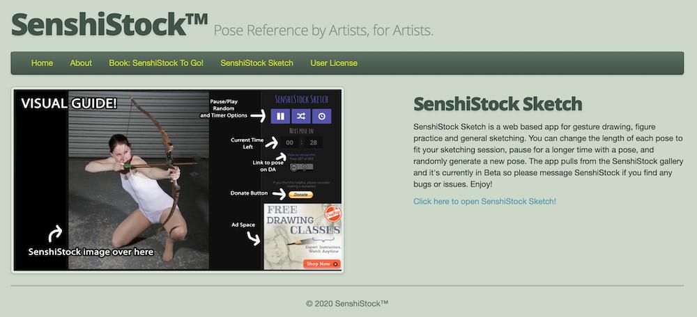 Posen Sammlungen auf SenshiStock