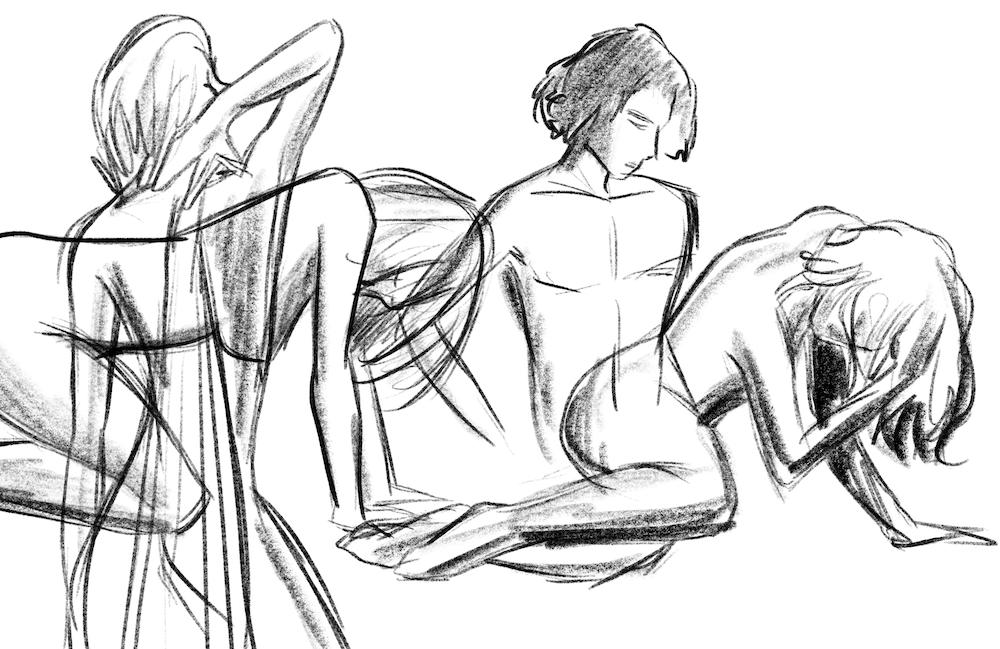 Posen zeichnen