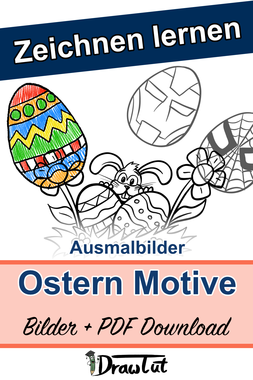 Ostern Ausmalbilder - Bilder & PDF Download