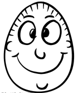 Ostern Kinder Ausmalbild Papa Ei
