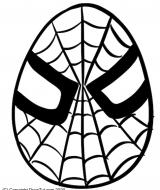 Ostern Kinder Ausmalbild Spiderman Ei