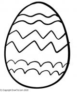 Ostern Kinder Ausmalbilder Ei