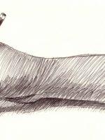 Bleistiftzeichnung Hand Bleistift