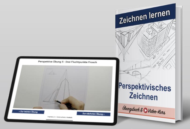 Perspektiven Zeichnen eBook und Video-Kurs
