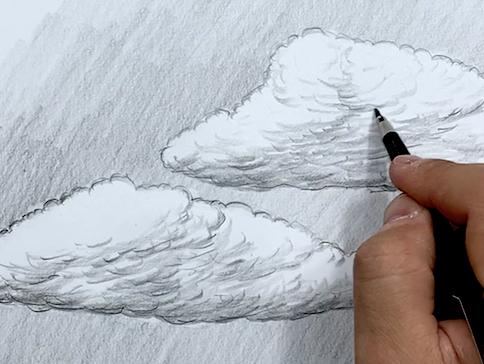 Wolken Zeichnen