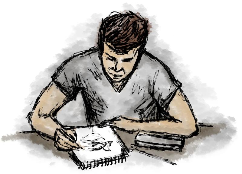 Integriere Zeichnen in dein Leben - Zeichnen regelmäßig