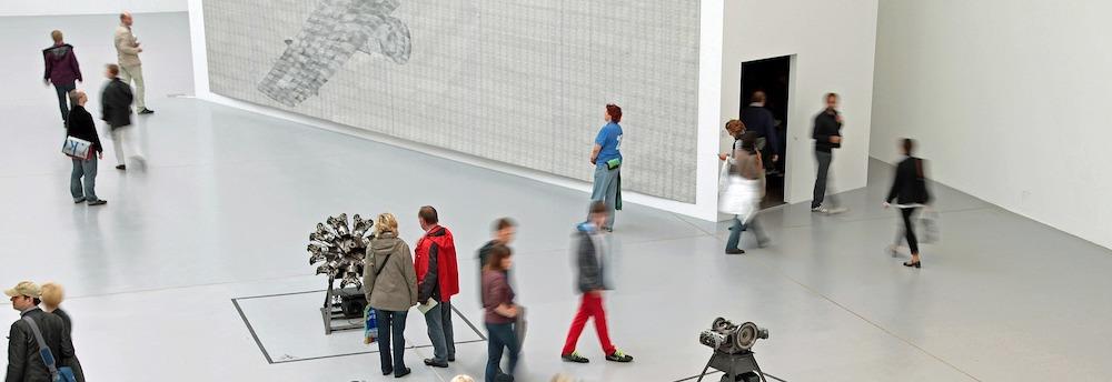 Kreativ sein Tipp - Ausstellungen besuchen oder sich mit anderen kreativen treffen