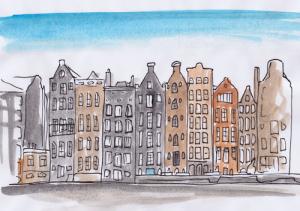 Urbane Skizze