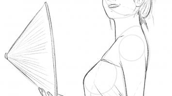 Zeichnen Übung Mensch 3