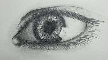 Zeichnen Workshop Zeichnung Auge
