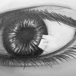 Auge Zeichnen - Realistische Zeichnung
