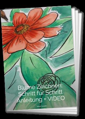 Blume zeichnen anleitung pdf