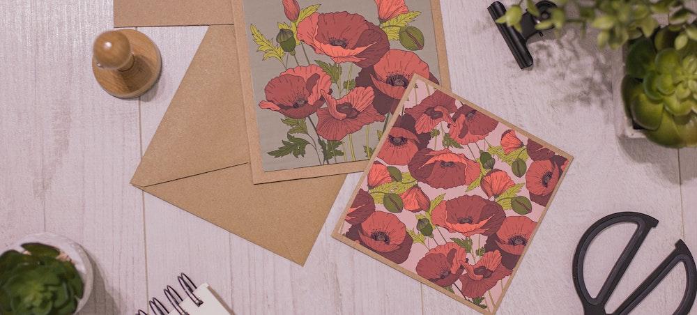 Gestalte deine eigenen Postkarten
