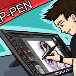 XP PEN Artist 22R Pro Review Test