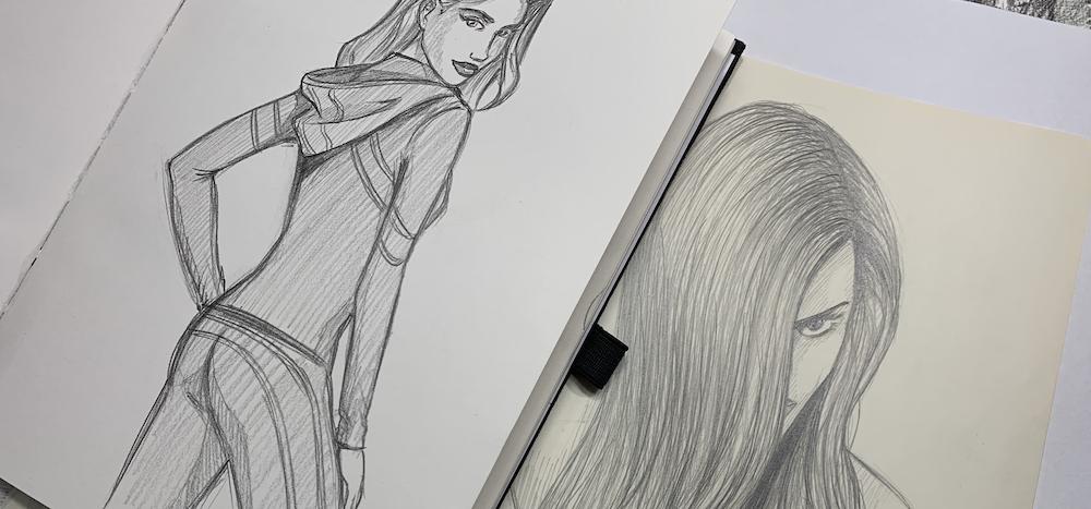 Zeichnen für Anfänger Tipp - Auf eine Sache konzentrieren