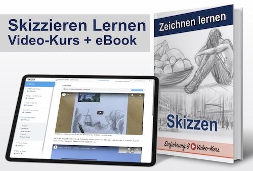 Skizzen Zeichnen Online Kurs