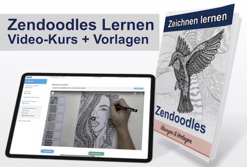 Zendoodle Zeichnen Online Kurs