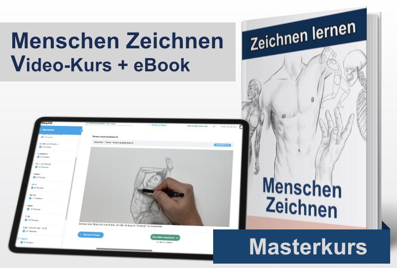 Menschen Zeichnen Kurs und eBook