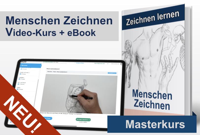Menschen Zeichnen Video und eBook