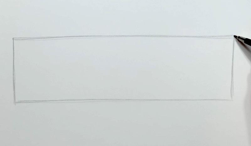 Kasten für die Skizze zeichnen