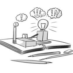 Skizzenbuch als Ideenfabrik