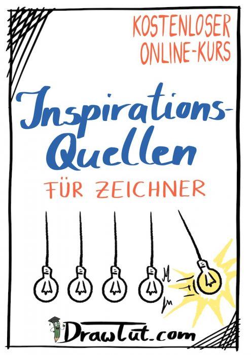 Inspirationsquellen für Zeichner - Übersicht und Links zu den einzelnen Quellen