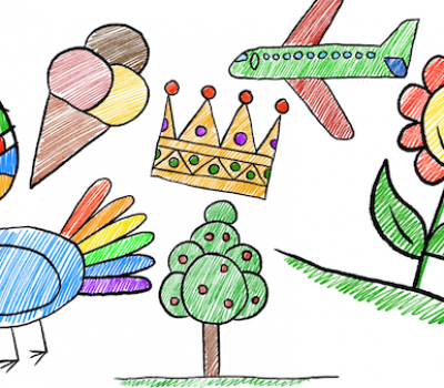 Kinder Zeichnen Schule