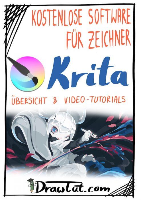 Kostenlose Software für Zeichner detailliert vorgestellt - Krita - Tutorials, Videos, Tipps