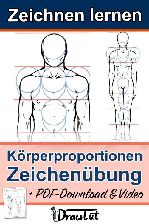 Proportionen Körper Zeichnen