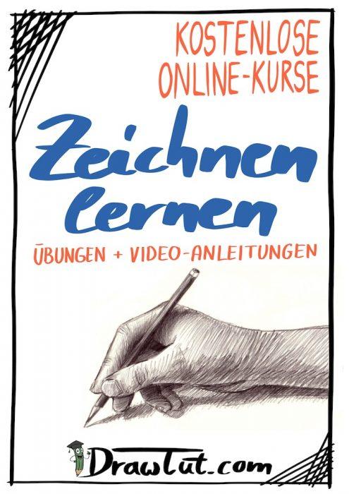 Komplette Kurse mit Anleitungen, eBooks und Videos zum Zeichnen Lernen