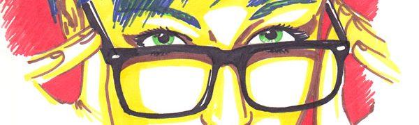 Zeichnung-Filzstifte-Frau1